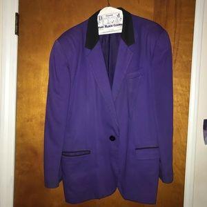 Jackets & Blazers - Purple Blazer